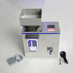 Vi 2-100g Semi-auto Granular Particle Subpackage Device Weighing Filling Machine