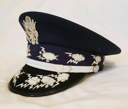 Usaf Airforce Chief Of Staff Military Generals Officers Dress Visor Hat Cap