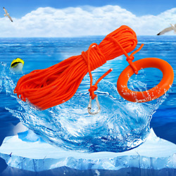 10x Snorkeling Safety Handle Diving Lifeline Life Saving Escape Tool Float Rope
