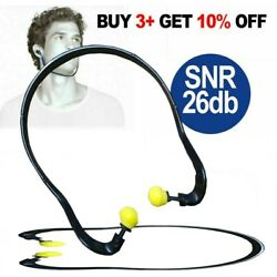 Banded Ear Plugs Pushing Ear Defenders Hearing Protectors Noise Reduction