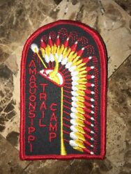 Boy Scout Amaquonsippi Trail Camp Trade-o-ree Annual Patch Bsa Www Il