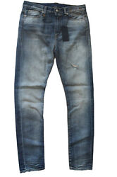 R13 Womens Jeans Slouch Skinny Dublin Vintage Made In Italy Size 25 New
