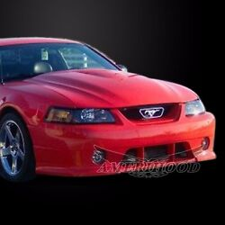 1999-2004 Ford Mustang Type-1 Style Functional Vented Cooling Hood By Amerihood