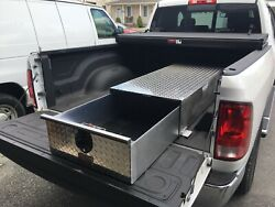 N72 Bed Truck Tool Box With One Drawer 72 Long X 24 Wide X 10 15/16 Tall