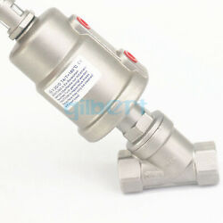 1/2 Bspt Normally Close Ss304 Actuated Angle Seat Steam Valve New-type Head