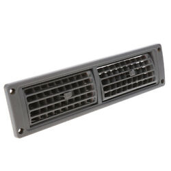 Universal Heat A/c Air Vent Outlet Grill Gray For Car Yacht Rv Marine Boat