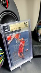 LEBRON JAMES 2003-04 FLEER MYSTIQUE #101 RC 999 BGS 9.5 GOAL 1 MILLION VISITORS