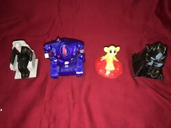 4 Lost In Space Kid's Meal Prototypes - Long John Silvers Movie Toys - 1998