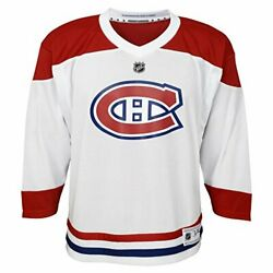Youth Montreal Canadiens Outerstuff White Replica Away Jersey