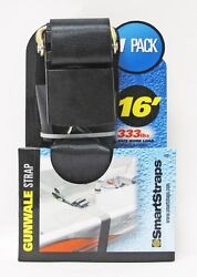 Boat Tiedown Gunwale Strap 16and039 333lbs Safe Work Load 1000lbs Break Strength