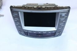 2006-2009 LEXUS IS250 IS350 GPS NAVIGATION DISPLAY SCREEN CLIMATE CONTROL J5287