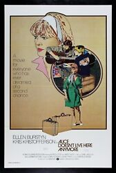 Alice Doesnand039t Live Here Anymore ✯ Cinemasterpieces 1975 Scorsese Movie Poster