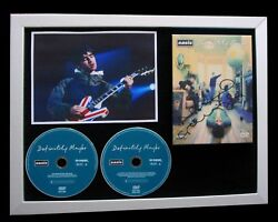 Oasis+noel Gallagher+signed+framed+definitely=100 Authentic+express Global Ship