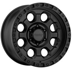 AMERICAN RACING AR201 Rim 18X9 6x4.5 Offset 0 Cast Iron Black (Quantity of 4)