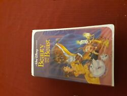 Beauty And The Beast Vhs, 1992 Black Diamond Discontinued Rare