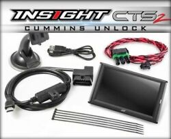 Edge Insight Cts2 Monitor And Unlock Cable For 2013-2017 Dodge Ram 6.7l Cummins