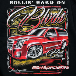 Billet Specialties BLVD Wheels Truck SUV SweatShirt New