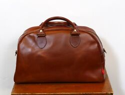 John Chapman Brown Reiver 18 Holdall Leather Gym Overnight Bag Retail 850