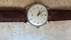 Omega Watch Honeycomb Dial Guilloche Orologio Mov. Cal 265
