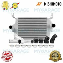 Mishimoto Silver Intercooler Kit For Ford F Series 03-07 6.0l Powerstroke Engine