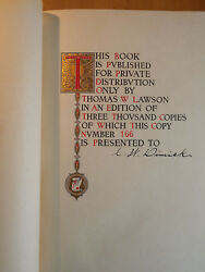 The Lawson History Of The Americaand039s Cup. A Record Of Fifty Years - First Edition