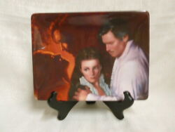 Gone With The Wind Burning Passion Dreams Remembered Bradford Exchange Plate