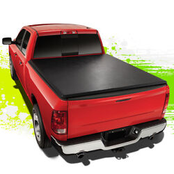 For 82-93 Chevy S10 Gmc S15 6and039bed Tri-fold Soft Trunk Tonneau Cover 89 90 91 92