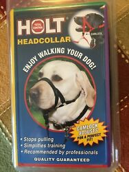 Holt Total Control Headcollar Black Size 3 New