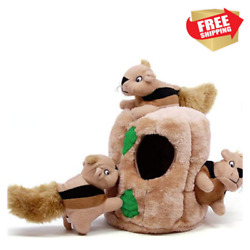 Interactive Puzzle Plush Dog Toy Boredom Fun Fetch Small Sized Dogs Room Squeak