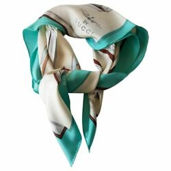 Riva By Rare Square Silk Scarf New Riva By New With Tags