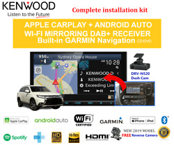 Kenwood Dnx9190dabs For Mitsubishi Outlander 2013-2018 Zj-zk Stereo Upgrade