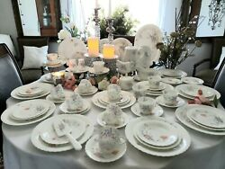 Something Blue By Mikasa - 49 Piece Starter Set - Discontinued Pattern - New
