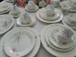 Something Blue By Mikasa -dinner Service For 4 - Discontinued - New 20 Pc Lot
