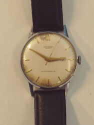 Vintage Universal Geneve monodate serviced and keeps time