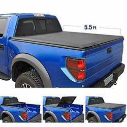 Tri-Fold Truck Bed Tonneau Cover TG-BC3F1041 Works with 2015-2019