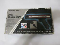 Vintage Sears Inductive Timing Light 28-2137