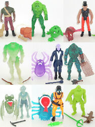 Kenner Swamp Thing Action Figures [ Multi-listing ] Complete Alan Moore Vintage