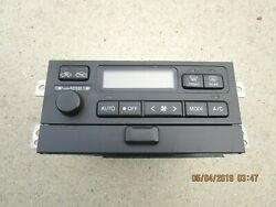 00 - 01 TOYOTA CAMRY A/C HEATER CLIMATE TEMPERATURE CONTROL OEM P/N 55900-33250