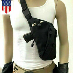 Concealed Tactical Storage Pistol Holster Right Anti-theft Shoulder Chest Bags