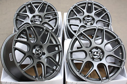18 Inch Alloy Wheels Cruize Cr1 Gm Fit For Audi Tts Coupe Roadster Mk2