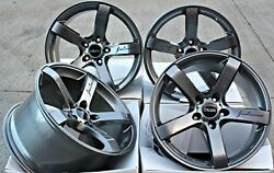 Alloy Wheels 18 Cruize Blade Gm Fit For Audi Tts Coupe Roadster Mk2