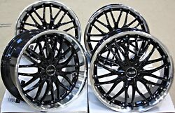 Alloy Wheels 18 18 Inch Alloys Cruize 190 Bp Staggered Clear Brembo Brakes