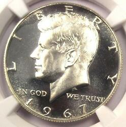 1967 Sms Kennedy Half Dollar 50c Coin - Ngc Ms68 Cameo Pq - 825 Value