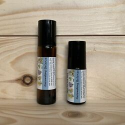 GROUNDING BALANCE Essential Oil Blend Roller Promotes Inner Calm Peace ADD ADHD
