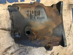 12-3-63 Dated Ford Borg Warner T10 4 Speed Main Case T10b-1 Mustang Galaxie