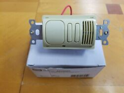 Hubbell Ad2000i2 Ivoryh-moss Pir And Us 2circuit Wall Switch