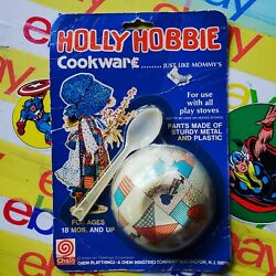 Vintage Holly Hobbie Hobby Cookware Tin Cereal Bowl - Chein Moc 1977