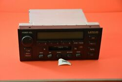 F#3 98-00 Lexus LS400 Pioneer Radio Receiver Tape Player CD 86120-50450 oem