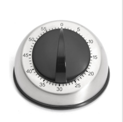 Long Ring Bell Alarm Loud 60-minute Kitchen Cooking Wind Up Timer Mechanical Us