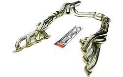 Obx Racing Long Tube S/s Header Fits For 14-21 Chevy Silverado Lt1 6.2l